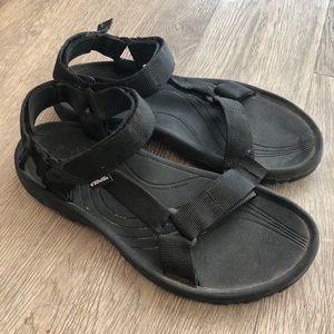 Men's 9 : Teva black sandal